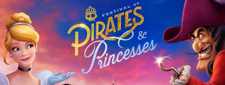 'Prinsessen & Piraten Festival' van 31 maart t/m 31 mei 2018 in Disneyland Paris