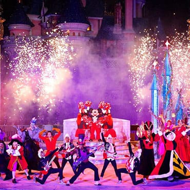 Disney's Halloween Party in Disneyland Paris met parade, shows, figuren en 'scare zone'