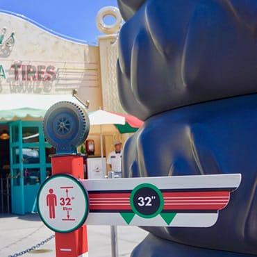 Overzicht van alle attracties met een minimumlengte restrictie in Disneyland Paris