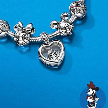 Nieuwe Disney sieraden van Pandora Jewelry met o.a. Winnie the Pooh en de prinsessen