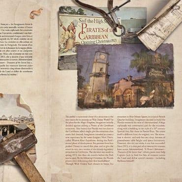 Uniek boek over Pirates of the Caribbean verkrijgbaar in Disneyland Paris