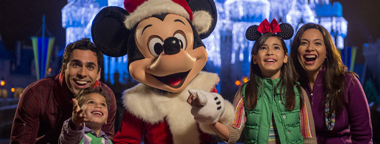 Kerst in Walt Disney World
