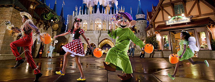 Halloween in Walt Disney World