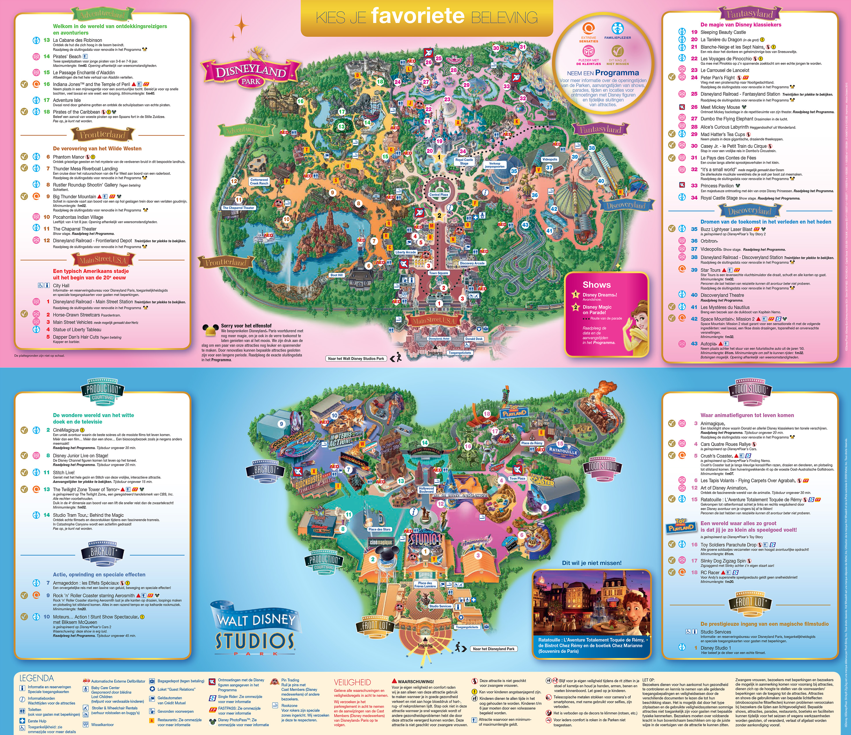 DISNEYLAND PARIJS PLATTEGROND PDF on