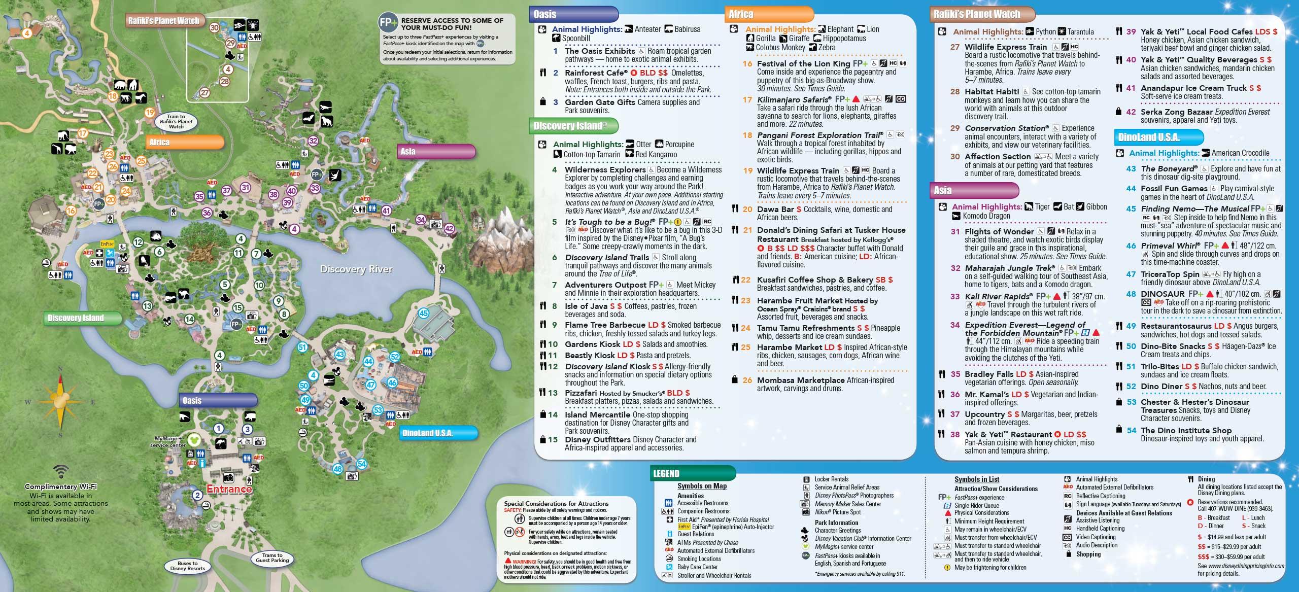 Magic kingdom orlando map pdf