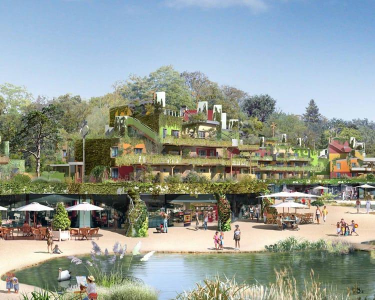 villages nature disneyland parijs. Black Bedroom Furniture Sets. Home Design Ideas