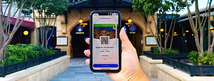 Disney Standby Pass