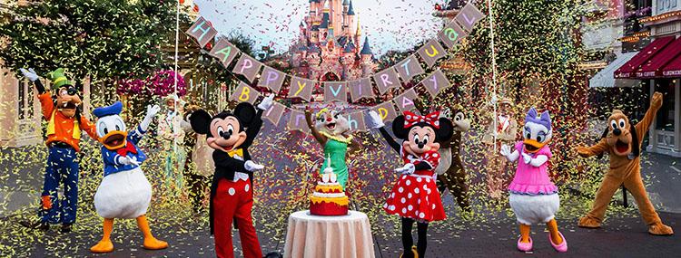 Disneyland Paris viert 29e verjaardag op 12 april 2021 met speciaal virtueel evenement