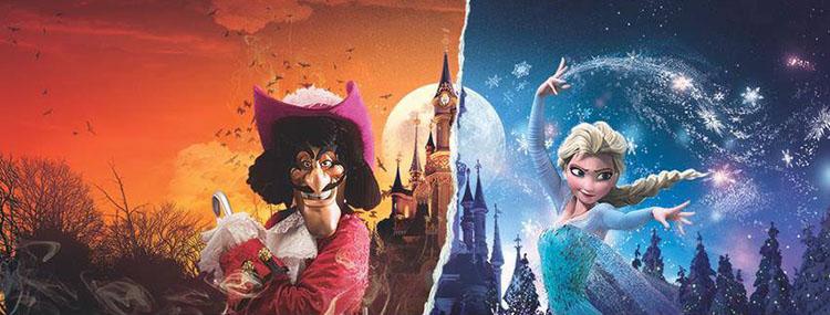 Halloween en Kerst kregen terug in Disneyland Paris met speciaal entertainment