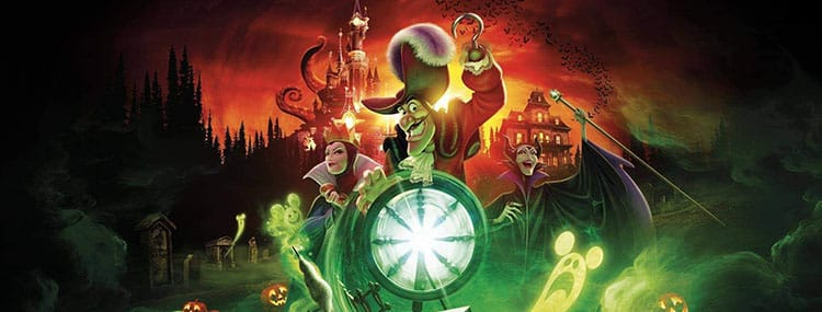 Halloween in Disneyland Paris met speciaal parades, selfie spots, Disney figuren en decoratie