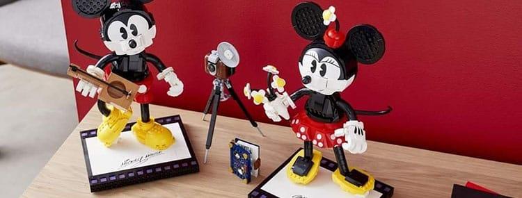 Exclusief Mickey Mouse & Minnie Mouse LEGO bouwpakket met 1739 stukjes