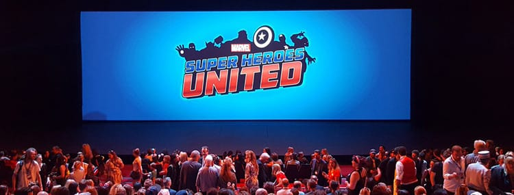 Stuntshow 'Marvel Super Heroes United' in Disneyland Paris met superhelden, projecties en drones