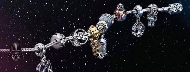 Pandora Jewelry lanceert nieuwe Star Wars sieraden met o.a. Yoda, Darth Vader en Chewbacca