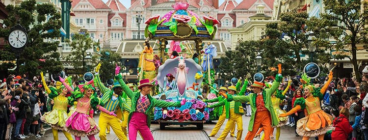 Festival van Piraten & Prinsessen met grote parade, show en Disney figuren in Disneyland Paris