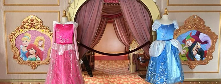 Metamorfose tot Prinses of Piraat in de Bibbidi Bobbidi Boutique van Disneyland Paris