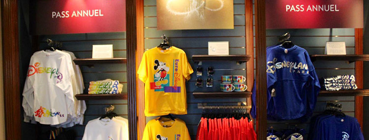Jaarkaarthouders krijgen eigen winkel met exclusieve merchandise in Disneyland Paris