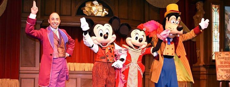 Dinnershow in Disneyland Paris met Disney figuren bij The Lucky Nugget Saloon