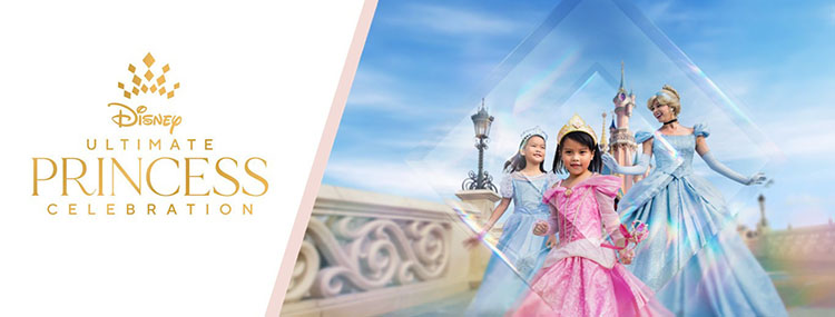 Disney's Grote Prinsessenfeest in Disneyland Paris tijdens Ultimate Princess Celebration