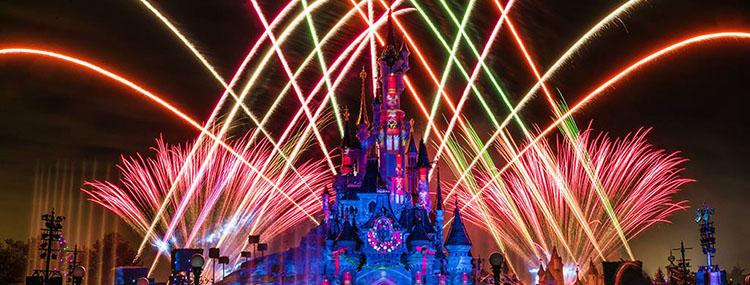 Vuurwerk keert terug in Disneyland Paris met o.a. Disney Illuminations en Oudejaarsavond