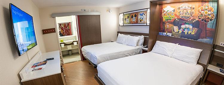 Vernieuwde kamers in Disney's All-Star Resorts met moderne look in Walt Disney World