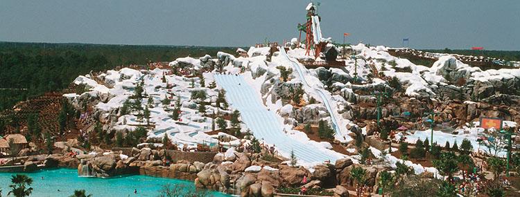 Walt Disney World opent Disney's Blizzard Beach Water Park vanaf maart 2021