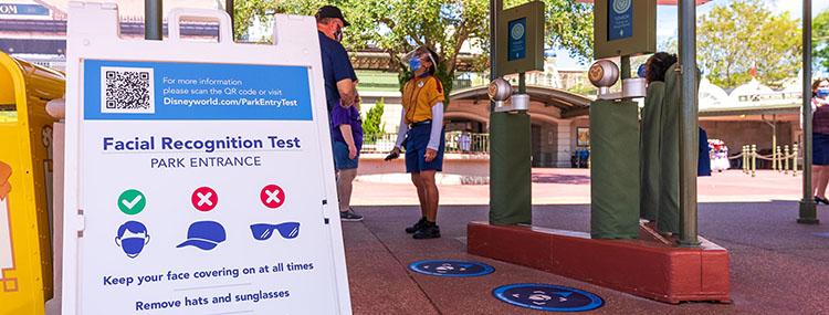 Walt Disney World start met optionele gezichtsherkenning voor toegang tot de parken