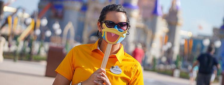 Walt Disney World stopt met mondkapjes plicht en schrapt het afstand houden
