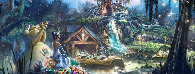 Splash Mountain in Walt Disney World krijgt upgrade met The Princess and the Frog