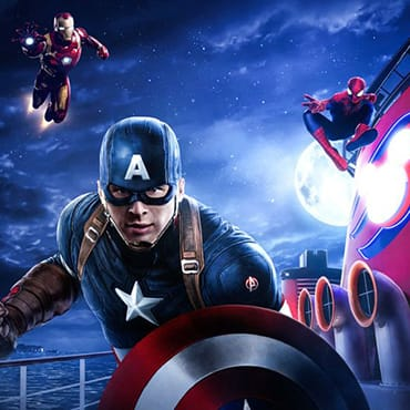 Beleef Marvel Day at Sea met superhelden, shows & entertainment op de Disney Cruise Line