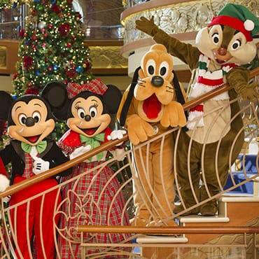 Very Merrytime Cruises met extra kerst entertainment op de Disney Cruise Line