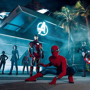 Avengers Campus opent in Disneyland Resort met Spider-Man attractie en Ant-Man restaurant