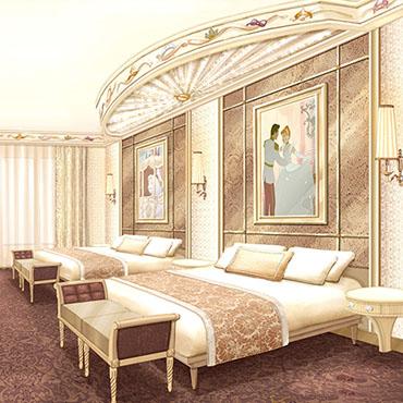 Upgrade voor het Disneyland Hotel in Disneyland Paris met nieuwe prinsessen kamers