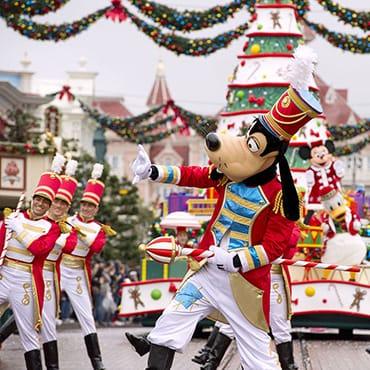 Vier een magische kerst tijdens Disney's Betoverende Kerst 2016 in Disneyland Paris