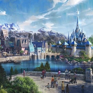 Frozen Land 'The World of Arendelle' in Disneyland Paris met nieuwe attractie en restaurants