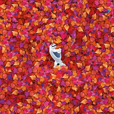 Onmogelijke Disney puzzel van Olaf uit Frozen 2 met 1000 stukjes en hoge moeilijkheidsgraad