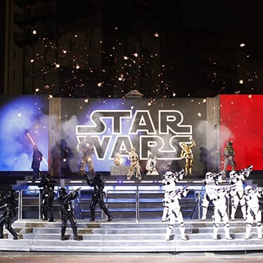 Laatste Star Wars seizoen Legends of the Force in Disneyland Paris met vernieuwde shows