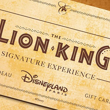 'The Lion King Signature Experience' in Disneyland Paris met lunch en figuren