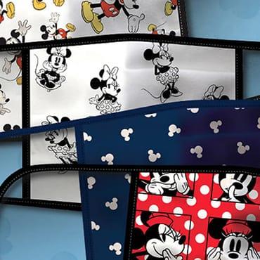 Officiële Disney mondkapjes met o.a. Mickey, Minnie, Pixar, Star Wars, Marvel en Frozen