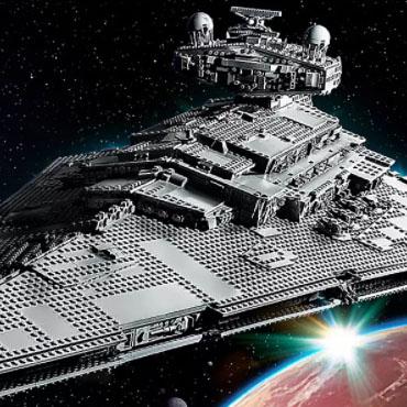 Star Wars LEGO bouwpakketten van o.a. de Millennium Falcon en Imperial Star Destroyer