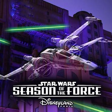 Star Wars 'Season of the Force' van 14 januari t/m 26 maart 2017 in Disneyland Paris