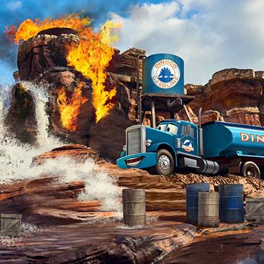 Disneyland Paris opent nieuwe Cars attractie, Disney Junior show en Marvel hotel in 2021