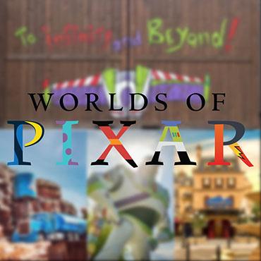 Nieuw themagebied Worlds of Pixar in Disneyland Paris met attracties in het Studios Park