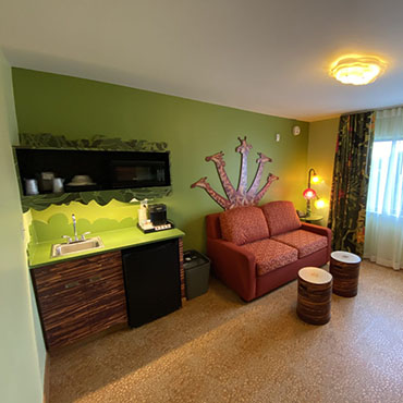 Vernieuwde Lion King kamers bij Disney's Art of Animation Resort in Walt Disney World
