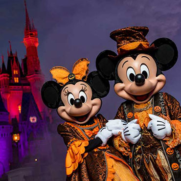 Disney After Hours BOO BASH event tijdens het Halloween seizoen in Walt Disney World