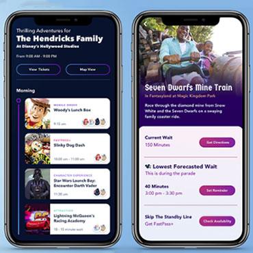 Disney Genie Service voor Walt Disney World met tips en planningen voor korte wachttijden
