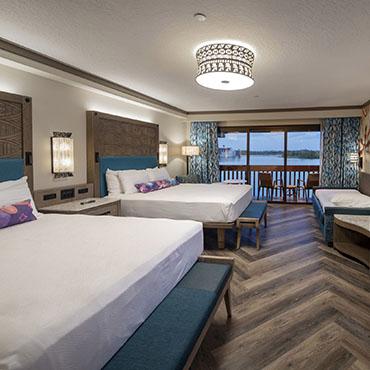 Nieuwe Moana kamers in Disney's Polynesian Village Resort in Walt Disney World