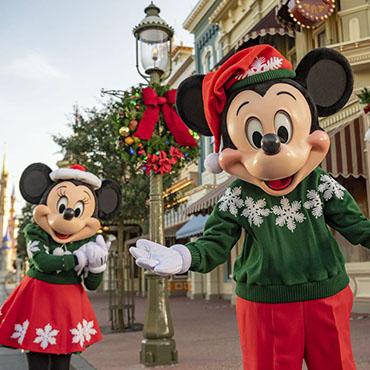 Disney Very Merriest After Hours event tijdens het kerstseizoen in Walt Disney World
