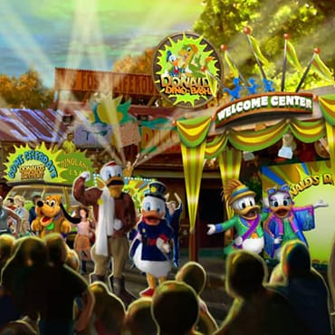 Donald's Dino-Bash introduceert nieuwe ontmoetingen met figuren in Walt Disney World