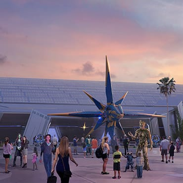 Nieuwe 'Guardians of the Galaxy' attractie met indoor achtbaan in Walt Disney World