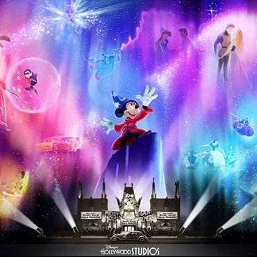 Nieuwe avondshow 'Wonderful World of Animation' met projecties in Walt Disney World